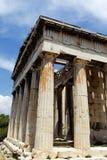 ναός πόλεων της Αθήνας Στοκ Φωτογραφίες