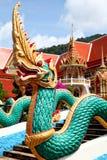 Ναός δράκων σε Phuket Στοκ Εικόνα
