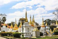 Ναός Σάο chedi Wat lang στο lampang Ταϊλάνδη Στοκ φωτογραφία με δικαίωμα ελεύθερης χρήσης