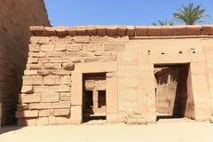 ναός σειράς της Αιγύπτου karnak thebes Στοκ Εικόνα