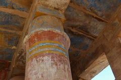 ναός σειράς της Αιγύπτου karnak thebes Στοκ εικόνες με δικαίωμα ελεύθερης χρήσης