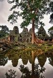 Ναός σε Ankor Wat Στοκ Εικόνες