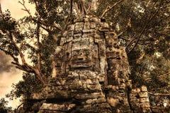 Ναός σε Ankor Wat Στοκ Φωτογραφία