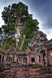 Ναός σε Ankor Wat Στοκ εικόνα με δικαίωμα ελεύθερης χρήσης