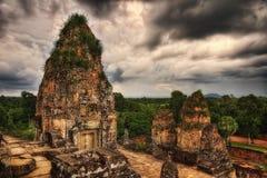 Ναός σε Ankor Wat Στοκ φωτογραφίες με δικαίωμα ελεύθερης χρήσης