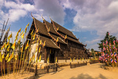 Ναός σε Chiang Mai, Ταϊλάνδη Στοκ Εικόνα
