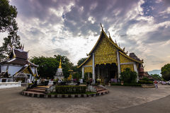 Ναός σε Chiang Mai, Ταϊλάνδη Στοκ εικόνες με δικαίωμα ελεύθερης χρήσης