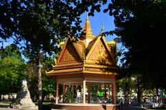 Ναός σε Wat Phnom Στοκ Φωτογραφίες