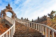 ναός σκαλών του Μπαλί Ινδο στοκ εικόνες