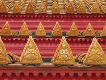 ναός στεγών Στοκ Εικόνες