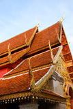 ναός στεγών doi phrathat suthep wat Στοκ Εικόνες