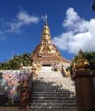 Ναός στην επαρχία Phetchaboon στοκ εικόνες με δικαίωμα ελεύθερης χρήσης
