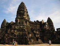 Ναός στην Καμπότζη Angkor Wat Στοκ φωτογραφία με δικαίωμα ελεύθερης χρήσης