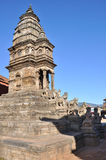 Ναός στην πλατεία Bhaktapur Durbar στοκ φωτογραφία με δικαίωμα ελεύθερης χρήσης