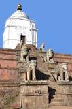 Ναός στην πλατεία Bhaktapur Durbar στοκ εικόνα με δικαίωμα ελεύθερης χρήσης
