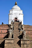 Ναός στην πλατεία Bhaktapur Durbar στοκ φωτογραφίες με δικαίωμα ελεύθερης χρήσης