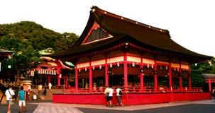 Ναός στη λάρνακα Fushimi Inari Taisha στο Κιότο, Ιαπωνία απόθεμα βίντεο