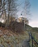 ναός στον τρόπο Στοκ Εικόνα