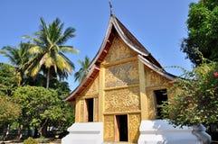 Ναός στο λουρί Wat Xieng Στοκ Φωτογραφία
