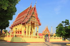 Ναός στο Σάο Wat Pho han Στοκ εικόνες με δικαίωμα ελεύθερης χρήσης