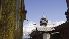 Ναός στο χωριό Kalpa απόθεμα βίντεο