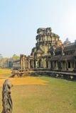 Ναός σύνθετος στην Καμπότζη, που αφιερώνεται στο Λόρδο Vishnu Στοκ εικόνα με δικαίωμα ελεύθερης χρήσης