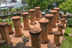 Ναός σύνθετο po-Nagar στοκ φωτογραφίες
