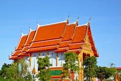 ναός Ταϊλάνδη Στοκ εικόνες με δικαίωμα ελεύθερης χρήσης