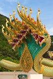 ναός Ταϊλανδός αγαλμάτων δ&r Στοκ Εικόνα
