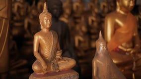 ναός Ταϊλανδός αγαλμάτων τ&omi Στοκ Φωτογραφίες