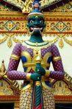 ναός Ταϊλανδός φρουράς Στοκ Εικόνες