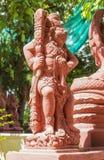Ναός Ταϊλάνδη αγαλμάτων Στοκ φωτογραφία με δικαίωμα ελεύθερης χρήσης