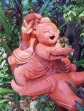 Ναός Ταϊλάνδη αγαλμάτων Στοκ εικόνες με δικαίωμα ελεύθερης χρήσης