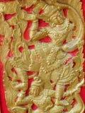 Ναός Ταϊλάνδη αγαλμάτων Στοκ Φωτογραφίες