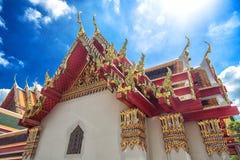 ναός Ταϊλάνδη στεγών Στοκ Εικόνα