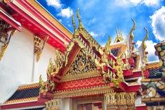 ναός Ταϊλάνδη στεγών Στοκ Φωτογραφίες