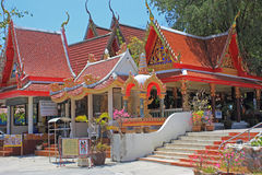 Ναός, Ταϊλάνδη Στοκ εικόνα με δικαίωμα ελεύθερης χρήσης