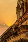 Ναός, ταϊλανδικός ναός, mai Chiang Στοκ Εικόνες