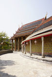 ναός Ταϊλανδός αρχιτεκτο&n Στοκ Εικόνα