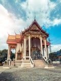 ναός Ταϊλανδός Ναός Patong Wat, Suwankeereewong Phuket, Ταϊλάνδη Στοκ Εικόνες