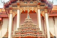ναός Ταϊλανδός Ναός Patong Wat, Suwankeereewong Phuket, Ταϊλάνδη Στοκ Εικόνα
