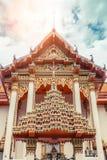 ναός Ταϊλανδός Ναός Patong Wat, Suwankeereewong Phuket, Ταϊλάνδη Στοκ εικόνα με δικαίωμα ελεύθερης χρήσης