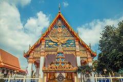 ναός Ταϊλανδός Ναός Phuket, Ταϊλάνδη Mongkol Nimit Wat Στοκ εικόνα με δικαίωμα ελεύθερης χρήσης