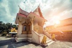 ναός Ταϊλανδός Ναός Phuket, Ταϊλάνδη Patong Suwankeereewong Wat Στοκ φωτογραφίες με δικαίωμα ελεύθερης χρήσης