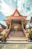 ναός Ταϊλανδός Ναός Phuket, Ταϊλάνδη Patong Suwankeereewong Wat Στοκ φωτογραφία με δικαίωμα ελεύθερης χρήσης
