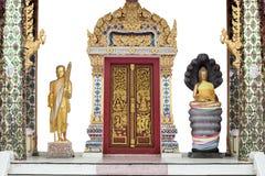 ναός Ταϊλανδός πυλών Στοκ Φωτογραφία