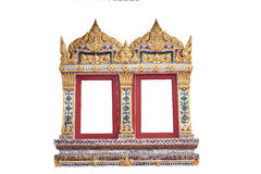 ναός Ταϊλανδός πυλών Στοκ εικόνα με δικαίωμα ελεύθερης χρήσης