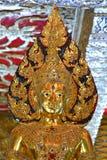 ναός Ταϊλανδός τέχνης Στοκ φωτογραφίες με δικαίωμα ελεύθερης χρήσης