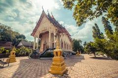 ναός Ταϊλανδός Το Wat παίρνει το ναό Ho, Anuphat Kritdaram Phuket, Ταϊλάνδη Στοκ φωτογραφία με δικαίωμα ελεύθερης χρήσης