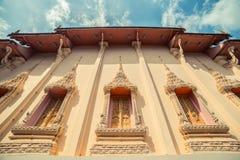ναός Ταϊλανδός Το Wat παίρνει το ναό Ho, Anuphat Kritdaram Phuket, Ταϊλάνδη Στοκ Εικόνες